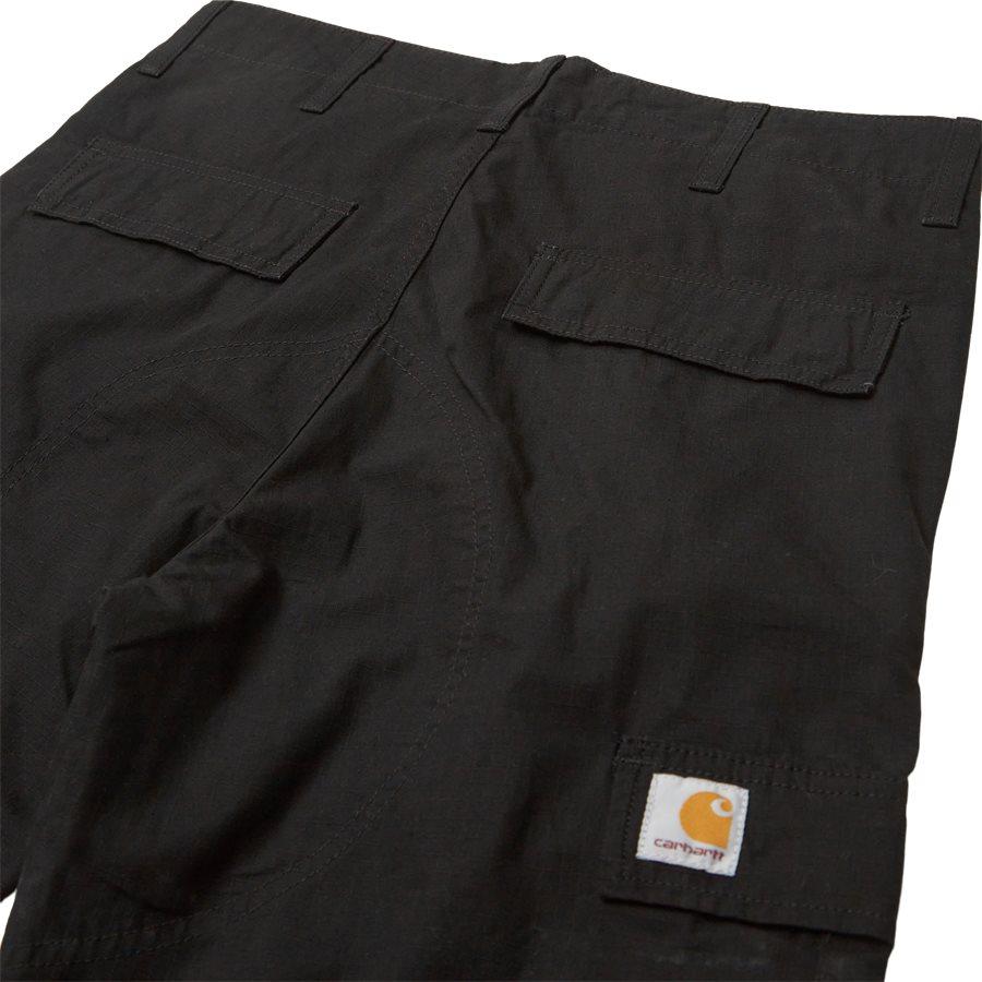 REGULAR CARGO PANT-I015875 - Cargo Pants - Bukser - Regular - BLACK RINSED - 3
